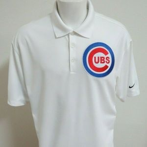 M-2XL Chicago Cubs Nike Dri-Fit Polyester 57Z Polo